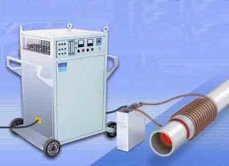 Как работать с индукционной установкой термообработки сварных стыков?