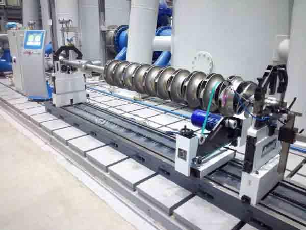 Динамическая балансировка на станке.вентилятора, ротора насоса или электродвигателя после проведенного ремонта.