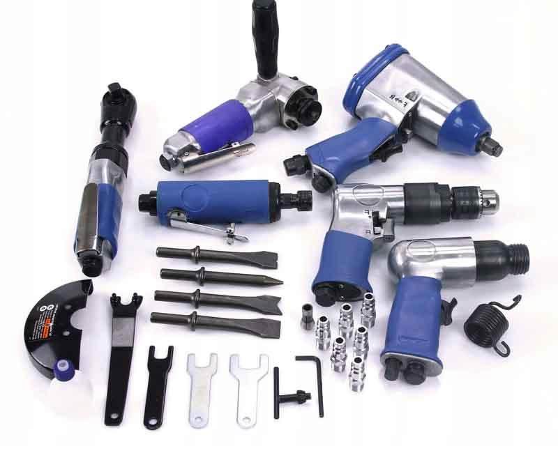 Воздушный, гидравлический или электропривод для инструмента? Что удобней и выгоднейдля проведения слесарных работ на предприятии.